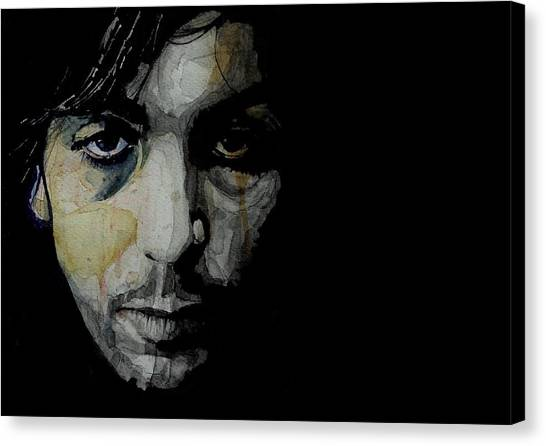 Crazy Canvas Print - Crazy Diamond - Syd Barrett  by Paul Lovering