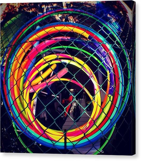 Portal Canvas Print - #crazy #explosion Of #colours And #mad by Digital Ghosts
