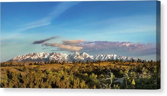 Crazy Mountains Canvas Print
