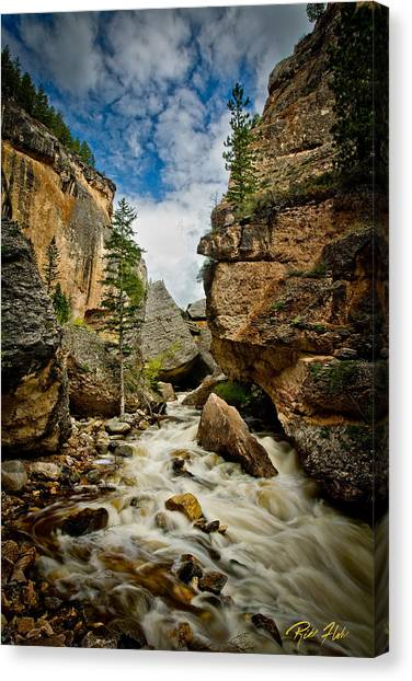 Crazy Woman Canyon Canvas Print
