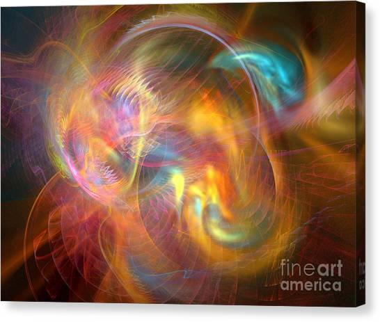Creation 3 Canvas Print