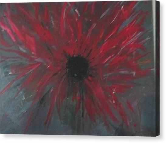 Creation Crying Canvas Print