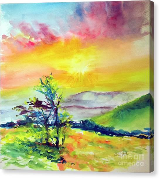 Creation Sings Canvas Print
