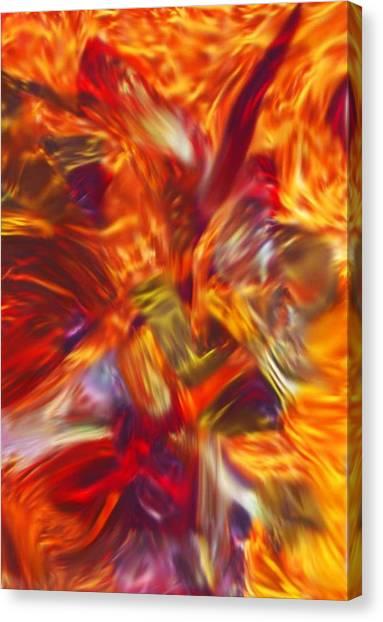 Creations Vortex Canvas Print by AJ  Modiest