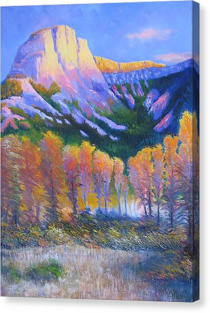 Creator Mountain Canvas Print by Gregg Caudell