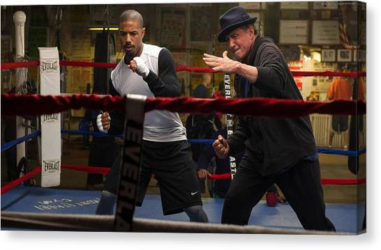 Stallone Canvas Print - Creed by Emma Brown