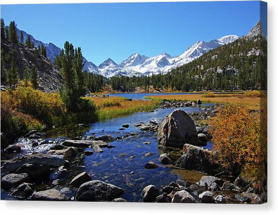 Creek At Little Lake Valley Canvas Print