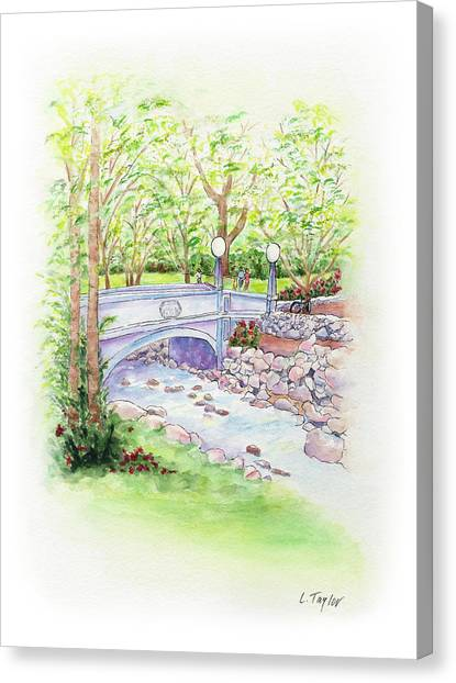 Creekside Canvas Print