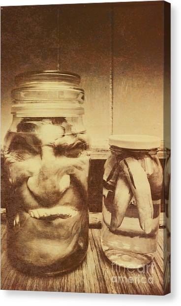 Jar Canvas Print - Creepy Halloween Scenes by Jorgo Photography - Wall Art Gallery