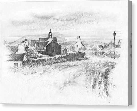Cregneish Sketch Canvas Print