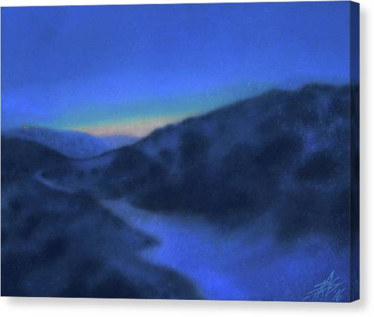 Crepuscule Or Los Penasquitos Canyon Xiv Canvas Print by Robin Street-Morris