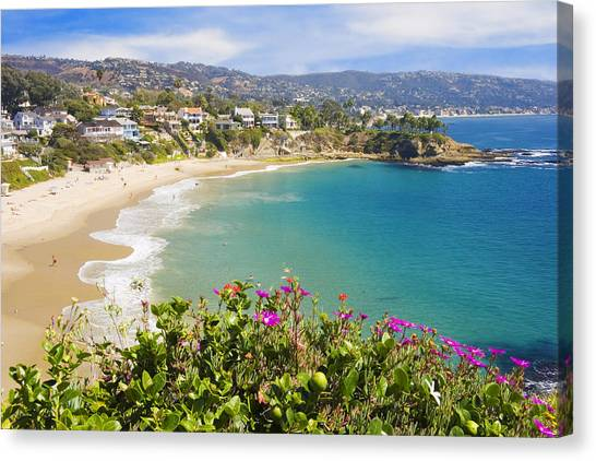 Crescent Bay Laguna Beach California Canvas Print
