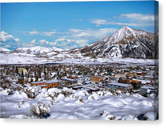 Crested Butte Panorama Canvas Print