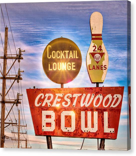 Crestwood Bowl Canvas Print