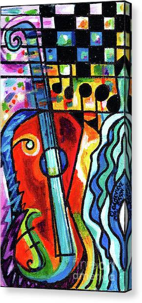 Creve Coeur Streetlight Banners Whimsical Motion 10 Canvas Print