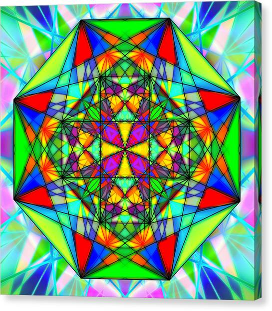 Cristal Logic Canvas Print