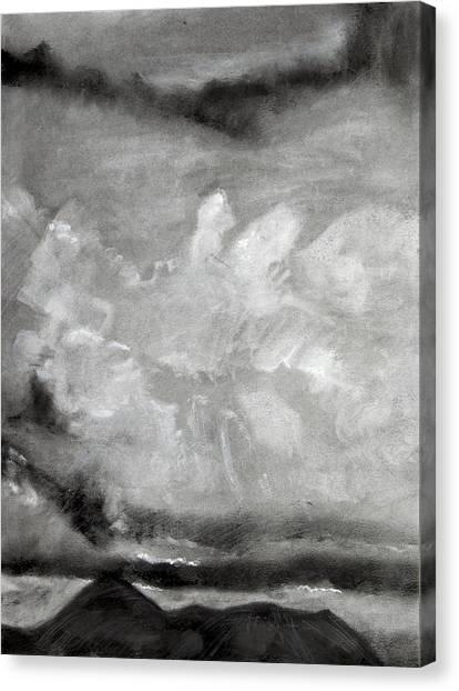 Croagh Patrick Canvas Print