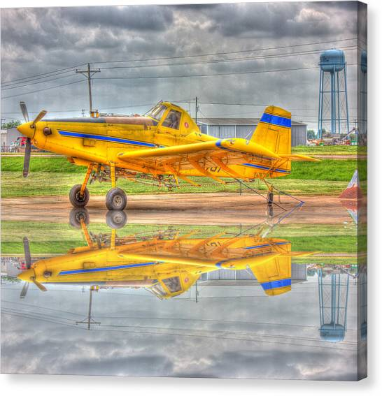 Crop Duster 002 Canvas Print