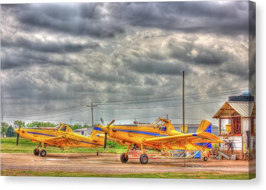 Crop Duster 003 Canvas Print