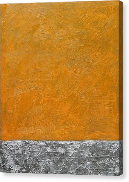 Fields Oil On Board 16 X 20 2014 Canvas Print
