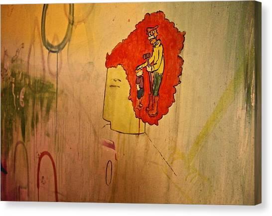 Croquet Timelessness  Canvas Print by Eric Finn