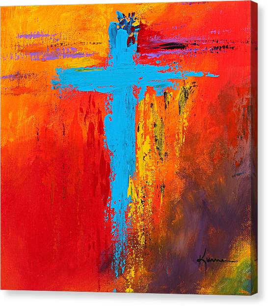 Cross 3 Canvas Print