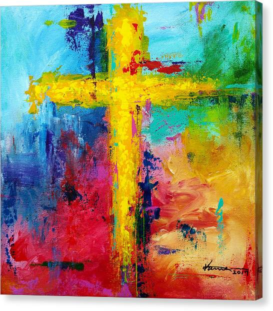 Cross 7 Canvas Print