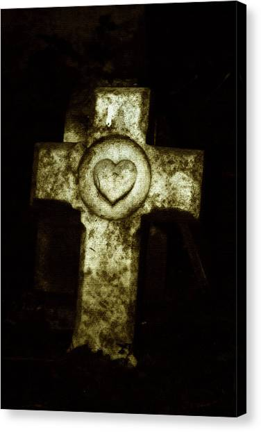 Cross My Heart Canvas Print by Carl Perry