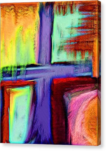 Cross Of Hope Canvas Print