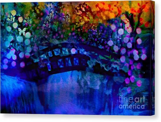 Cross Over The Bridge Canvas Print