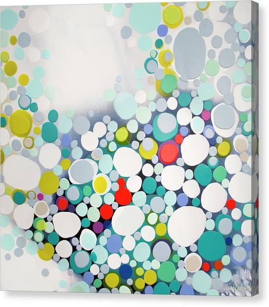Canvas Print - Cross The Line by Claire Desjardins