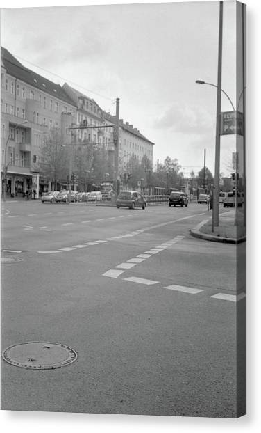Crossroads In Prenzlauer Berg Canvas Print