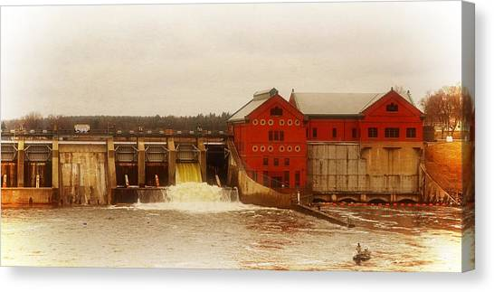 Croton Hydroelectric Plant Canvas Print