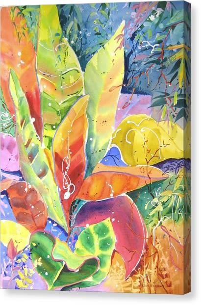 Croton Ll Canvas Print