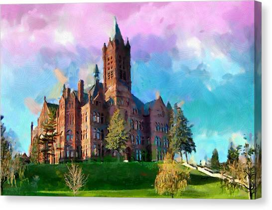 Syracuse University Canvas Print - Crouse College by Anthony Caruso