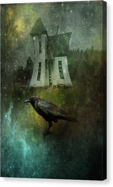 Crow House Canvas Print