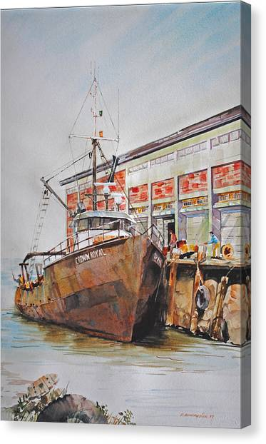 Crown Royal Canvas Print
