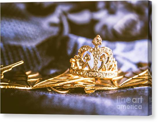 Ring Canvas Print - Crowned Tiara Jewellery by Jorgo Photography - Wall Art Gallery