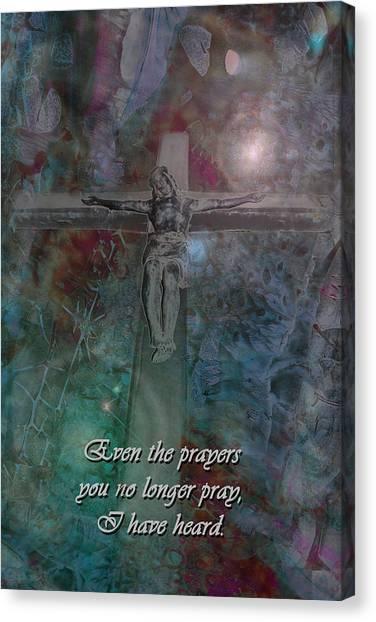 Crucifix 2 Canvas Print