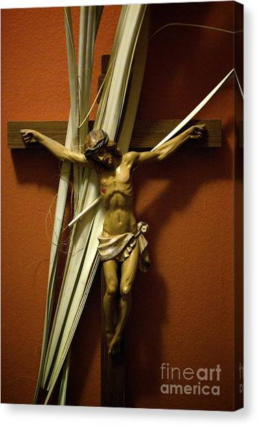 Crucifix Canvas Print