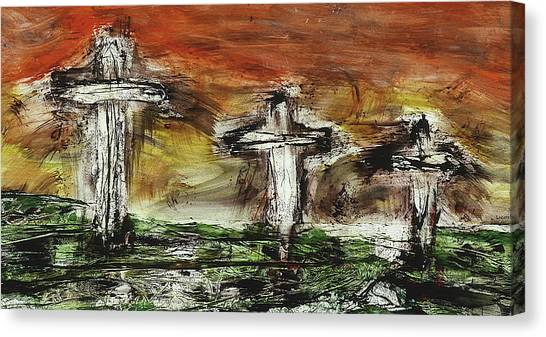 Crucifixion #2 Canvas Print