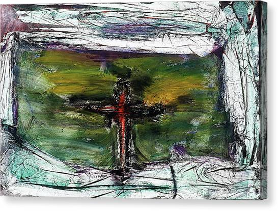Crucifixion #3 Canvas Print