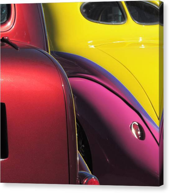 Cruise In Colors Canvas Print