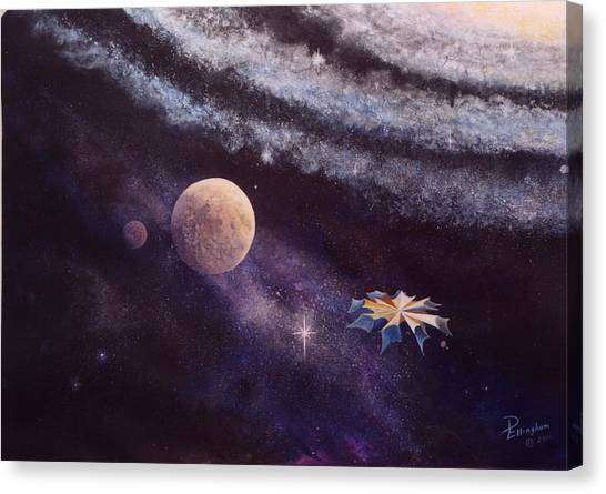 Cruising The Stars Canvas Print