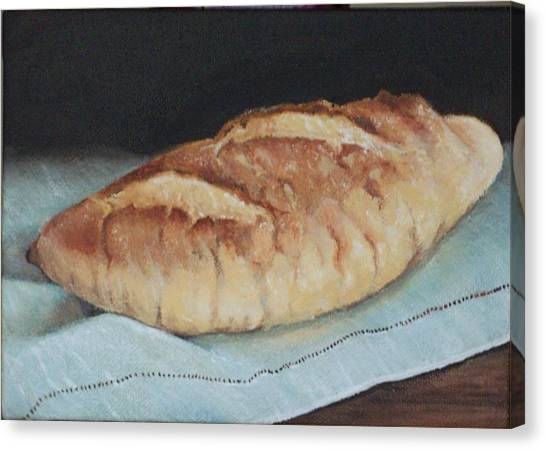 Crusty Loaf Canvas Print by Irene Corey