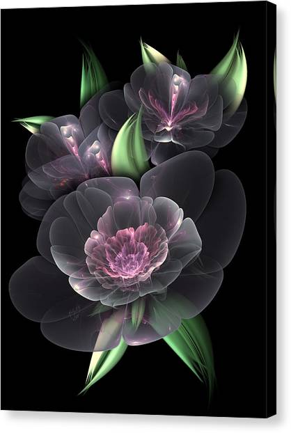 Crystal Bouquet Canvas Print