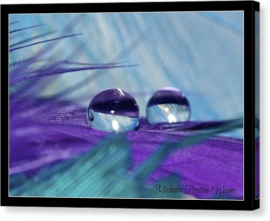 Crystal Clear Canvas Print