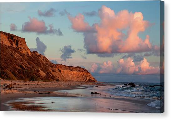 Crystal Cove Reflections Canvas Print