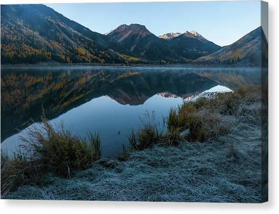 Crystal Lake - 0565 Canvas Print