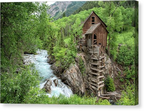 Crystal Mill Colorado 3 Canvas Print